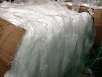 We sell LDPE film scrap 100% clean clear and Dry