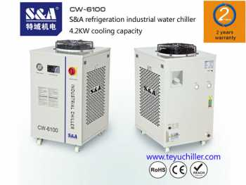 S&A chiller for Rofin150W high powered diode laser system